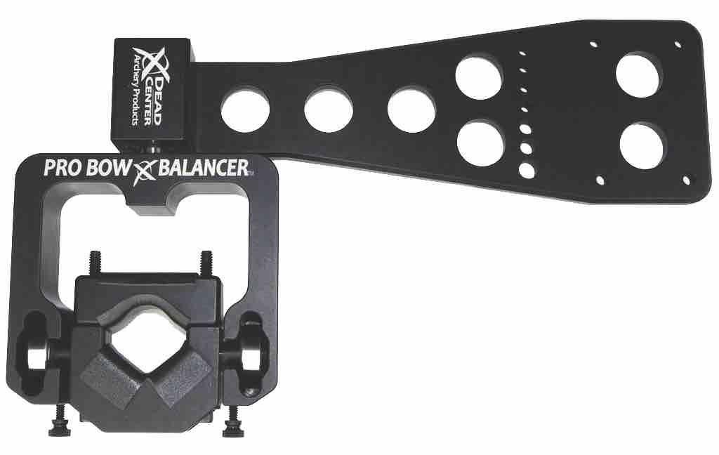 "NEW Dead Center Dead Level Hunter System Black 8/"" /& 6/"" Stabilizer Side Bar Kit"